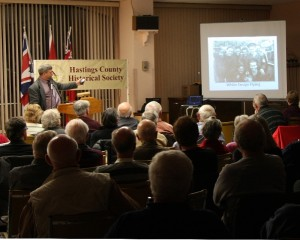 Roger Litwiller, Hastings County Historical society