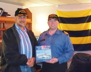 Roger Litwiller, LCdr. Robichaud, HMCS GOOSE BAY