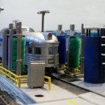 Car Wash on the Trenton Subdivision in N Scale