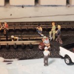 Laying the Last Piece of Track -Trenton Subdivision in N Scale
