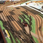 Ballasting the Freight Yard -Trenton Subdivision in N scale