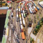 Yard Scenery on the Trenton Subdivision in N Scale