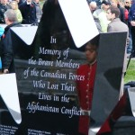 Dedication Ceremony for Afghanistan Memorial in Trenton