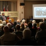 Roger Speaks at the Hastings County Historical Society