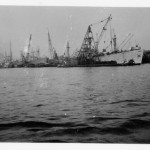 UK Harbour During WWII