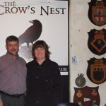 Roger Visits the Historic Crowsnest Officers Club in St. John's, NF. and Meets Vice-Adm McFadden