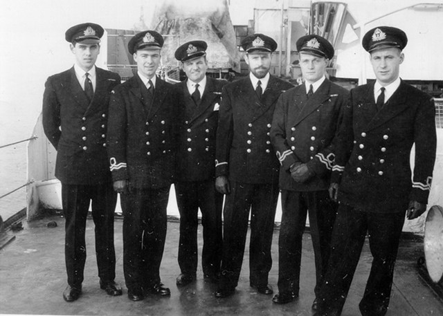 HMCS TRENTONIAN Officers