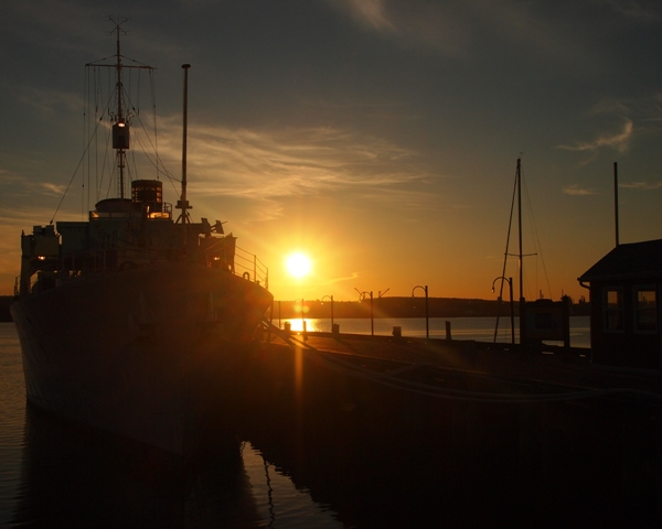 HMCS SACKVILLE Sunrise