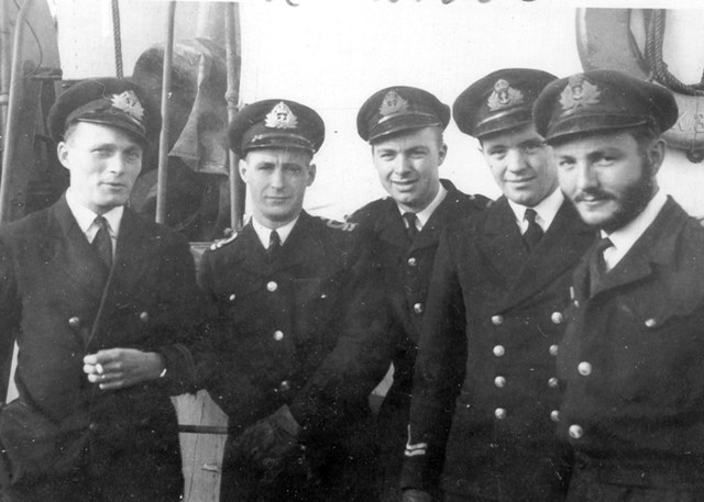 HMCS TRENTONIAN's Officers