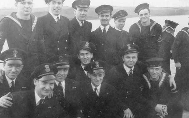 Chiefs and Petty Officers -HMCS TRENTONIAN