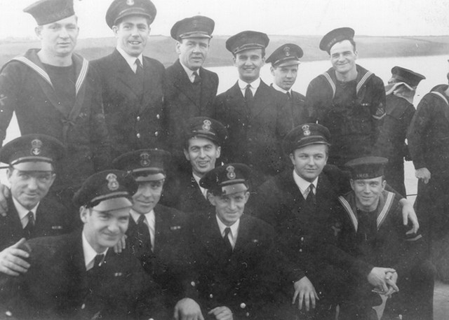 HMCS TRENTONIAN's Chiefs and Petty Officers
