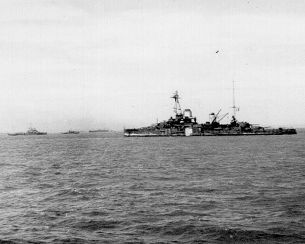 Free French battleship CORBET
