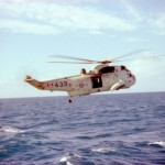 HMCS OTTAWA's Sea King