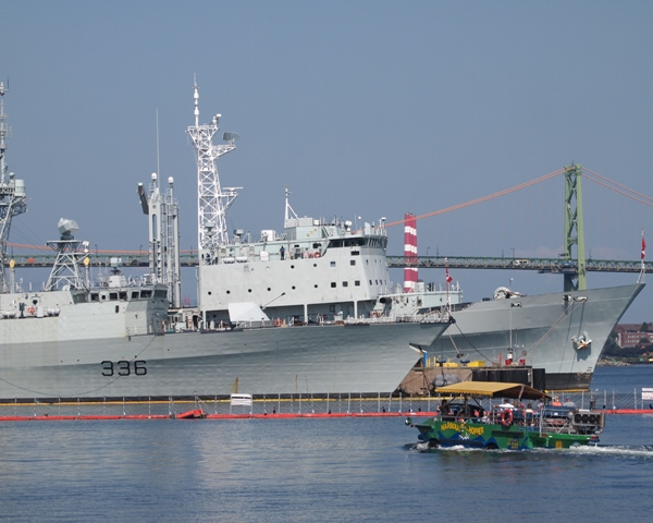 HMCShips MONTREAL and PRESERVER