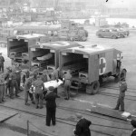 Disembarking Wounded Sailors