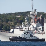 HMCS MONTREAL -Harbour Stations