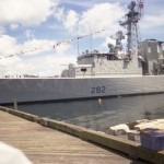 HMCS ATHABASKAN Dressed Overall