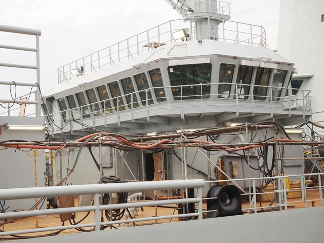 MV ASTERIX RAS Control Tower