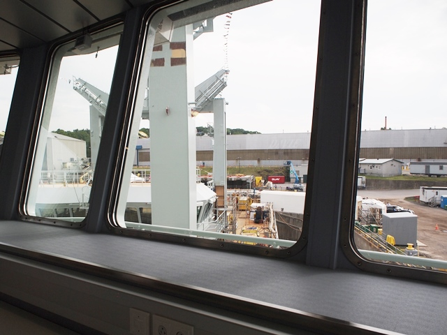 MV ASTERIX -RAS Observation Room