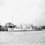 HMCS ST CLAIR Fueling