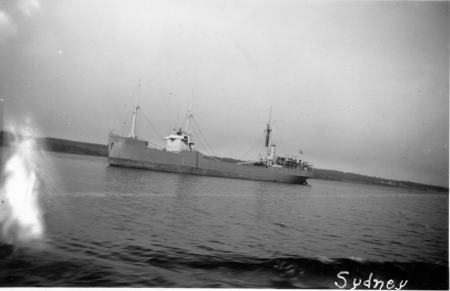 Merchant Ship at Anchor