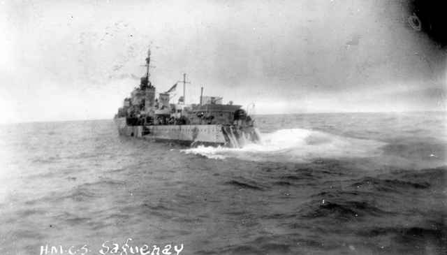 Collision -HMCS SAQUENAY (I)