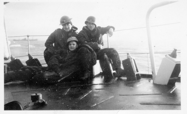 HMCS MAYFLOWER's Sailors