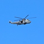 Sea King Over Halifax