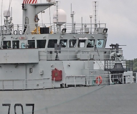 HMCS GOOSE BAY Weapons Systems