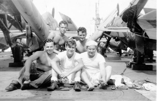 Canadian Sailors in HMS Puncher