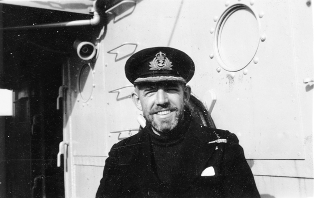 Captain F.L. Houghton, RCN
