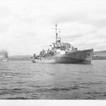 HMCS TRENTONIAN anchored Milford Haven
