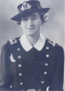 Sub-Lieutenant Agnes Wilkie became the first casualty of the WRCNS on 14 October 1942