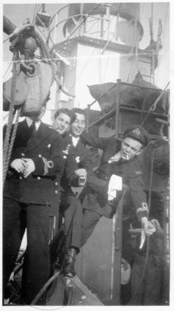 Christmas in HMCS MAYFLOWER 1944