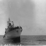 HMCS SAGUENAY -Fighting to Save the Ship