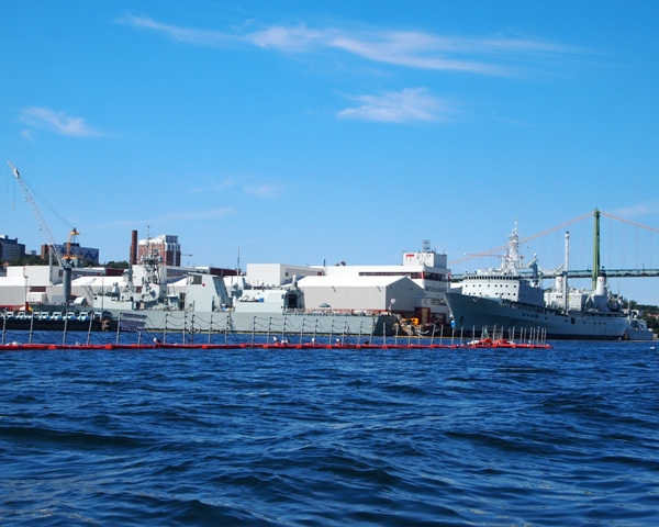 HMCS FREDERICTON and PRESERVER