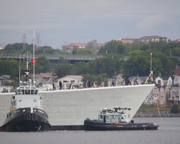 RCN Tugs at Work