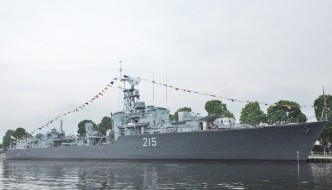 HMCS HAIDA -Flagship of the Royal Canadian Navy