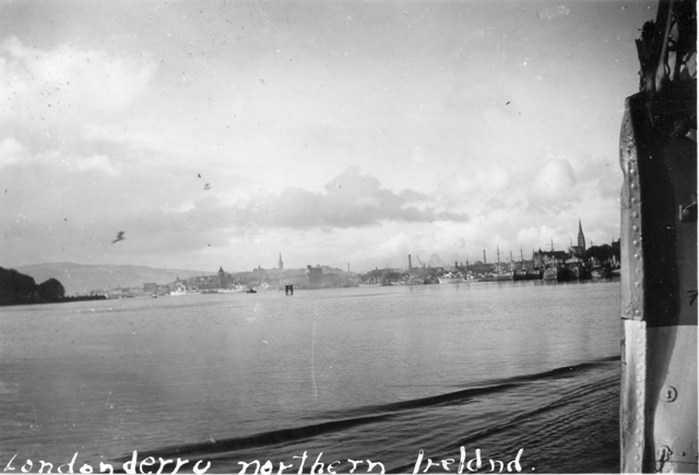 Londonderry Harbour at War