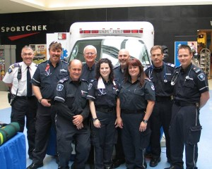 Paramedics draw strength and support from each other.
